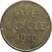 Jeton de lavage automobile - Lave 1 Cycle Auto – revers