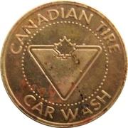 Jeton de lavage automobile - Canadian Tire (Kitchener, Ontario) – avers