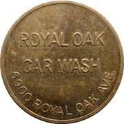 Jeton de lavage automobile - Royal Oak (Burnaby, British Colombia) – avers