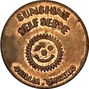 Jeton de lavage automobile - Sunshine Self Serve (Orillia, Ontario) – avers