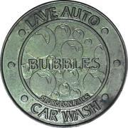 Jeton de lavage automobile - Bubbles Car Wash (Sturgeon Falls, Ontario) – avers