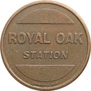 Car Wash Token - Royal Oak Station  (Burnaby, British Columbia) – avers