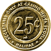 25 Cents - Casino Nova Scotia (Halifax) – revers