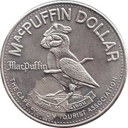 1 dollar MacPUFFIN 1980 -  avers