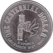 1 dollar TRENTON 1980 -  avers