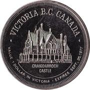 Victoria, British Columbia - Trade Dollar -  avers