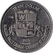 Niagara Falls, Ontario - Trade Dollar -  revers