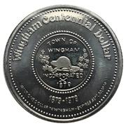 Wingham Centennial Dollar - Town of Wingham -  avers