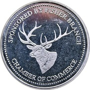 2 Dollars - Fisher Branch, Manitoba -  avers