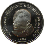 1 Dollar - Magnetic Hill (Moncton, New Brunswick) -  avers
