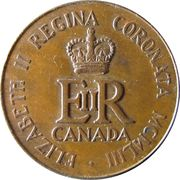 Médaille - Elizabeth II Coronation – revers