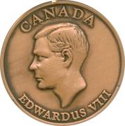 Edward VIII - Canada – avers