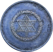 Medal - Confederation Centennial - Victoria & Elizabeth II (Silver) – revers