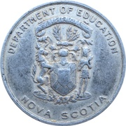 Medal - King George VI and Queen Elizabeth Coronation (Nova Scotia) – revers