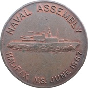 Medal - Halifax Naval Assembly (Nova Scotia) – avers