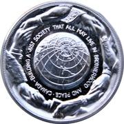 Médaille - Piere Elliot Trudeau (Silver-tone) – revers