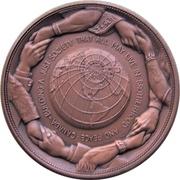 Médaille - Piere Elliot Trudeau (Bronze-tone) – revers