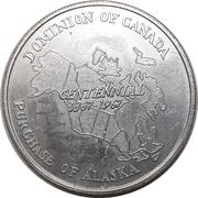 Medal - Purchase of Alaska – avers