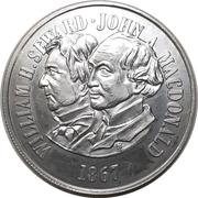 Medal - Purchase of Alaska – revers