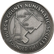 Medal - Huron County Numismatic Association – avers