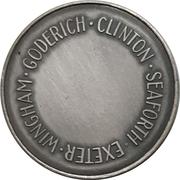 Medal - Huron County Numismatic Association – revers