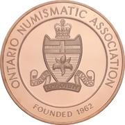 Medal - Ontario Numismatic Association Convention 2016 (Kitchener, Ontario) – revers