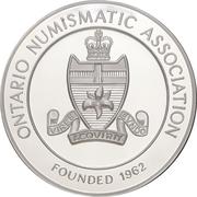 Medal - Ontario Numismatic Association Convention 2013 (Kitchener, Ontario) – revers