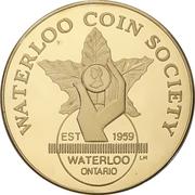 Medal - Waterloo Coin Society (Canada 150) – avers
