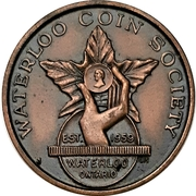 Medal - Waterloo Coin Society (Sixth Annual Banquet) – avers
