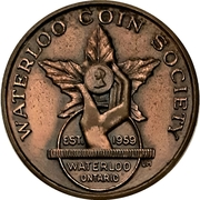 Medal - Waterloo Coin Society (Annual Banquet) – avers