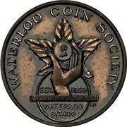 Medal - Ontario Numismatic Association Convention 1962 (Kitchener,  Ontario) – avers