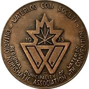 Medal - Ontario Numismatic Association Convention 1973 (Waterloo, Ontario) – avers
