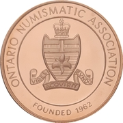 Medal - Ontario Numismatic Association (Canada 150) – avers