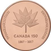 Medal - Ontario Numismatic Association (Canada 150) – revers