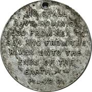 Medal - Canada (Psalms 72:8) – revers