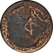 Medal - George VI (Royal Visit) – revers