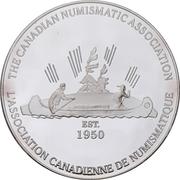 Medal - Canadian Numismatic Association 1999 (Kitchener, Ontario) – revers