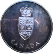 Médaille du centenaire de la Confédération canadienne – avers