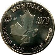 Souvenir Dollar - World Cup II I.A.A.F. (Hurdles) – avers