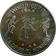 Souvenir Dollar - World Cup II I.A.A.F. (Hurdles) – revers