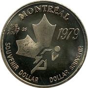 Souvenir Dollar - I.A.A.F. World Cup II (Running) – avers