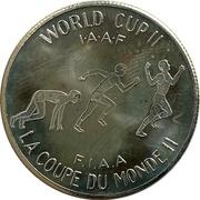 Souvenir Dollar - I.A.A.F. World Cup II (Running) – revers