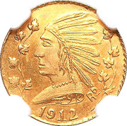 Token - British Columbia Gold - Indian Head – avers