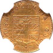 Token - British Columbia Gold - Indian Head – revers