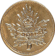 Dollar - British Columbia Gold - Maple Leaf & Union Jack – avers
