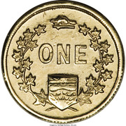 Dollar - British Columbia Gold - Miners – revers