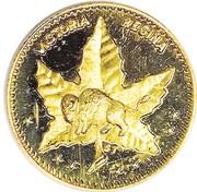 Dollar - Manitoba - Maple Leaf & Bison – avers