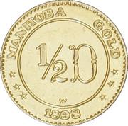 50 Cents - Manitoba - Maple Leaf & Bison – revers