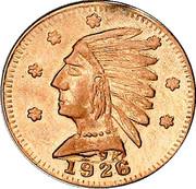 Dollar - Alberta Gold - Indian Head – avers