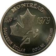 Souvenir Dollar - I.A.A.F. World Cup II (Throwing) – avers